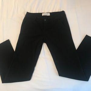 Black Flare Khaki Pants